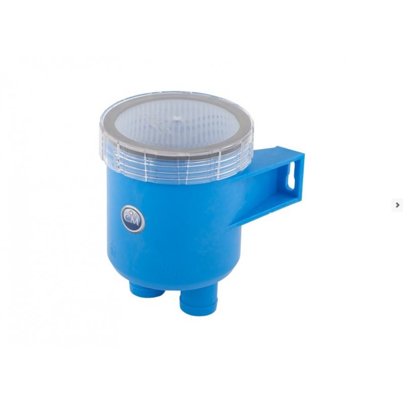 Raw water strainer 19mm (pp)