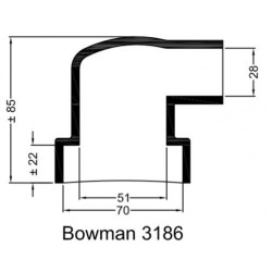 Bowman Gummihylsa 3186