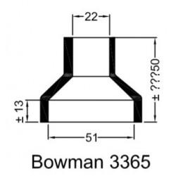Rubberen mof Bowman 3365