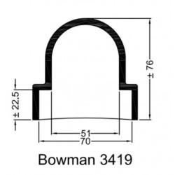 Rubberen mof Bowman 3419