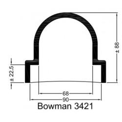 Rubberen mof Bowman 3421
