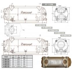 Värmeväxlare SCAM type 500-130