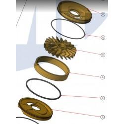 JMP Bronze impeller IMP002601