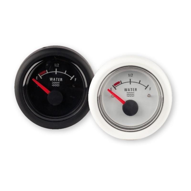 Waste water gauge, 12V, black