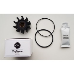 Impeller + o-ring seawater pump CM2.16/CM3.27/CM4.42 (pp)