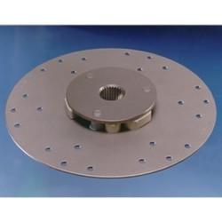 11P3 demperplaat Ø 336,5 mm. 745 Nm.