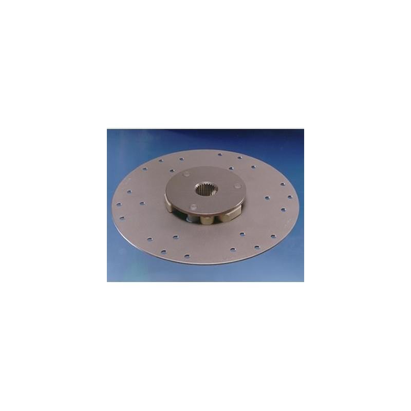 13B16 demperplaat Ø 151,5 mm. 135 Nm.