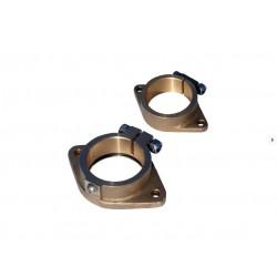 Flänsar(inner  och ute ) till hylsrör montering 25mm